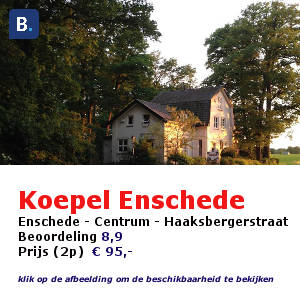 bed and breakfast enschede koepel