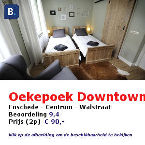oekepoek downtown bed and breakfast enschede