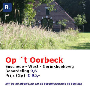 bed and breakfast op t oorbeck